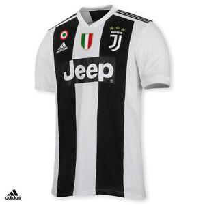 Dettagli su Juventus Maglia CHIELLINI Gara Home 2018/19 Patch Scudetto Coppa Uomo
