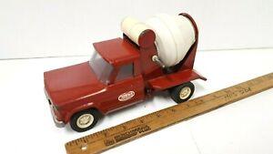 1967-TONKA-Jeep-Working-Cement-Mixer-Good-Original-Condition