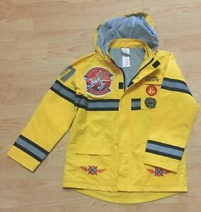 Disney Store Excusive Planes Fire and Rescue Varsity Jacket Size 5-6 7 8 New