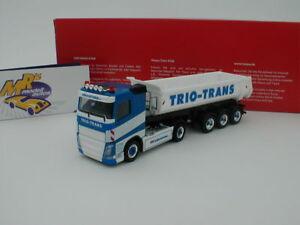 Herpa-308533-Volvo-FH-2-3-achs-Rundmulden-Sattelzug-034-Trio-Trans-034-1-87-NEU