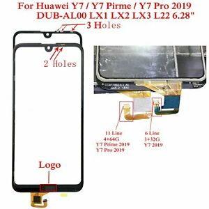 Details about For Huawei Y7/Y7 Prime /Y7 Pro 2019 DUB-LX1 LX2 LX3 L22 Outer  Glass Touch Screen