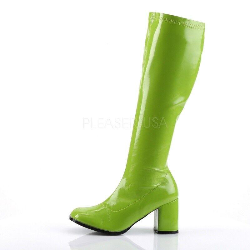 Funtasma botas botas botas Gogo - 300 limettenverdettenverde charol 024afc