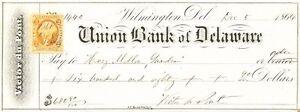 A-Victor-Du-Pont-Signed-Check-dated-December-1864