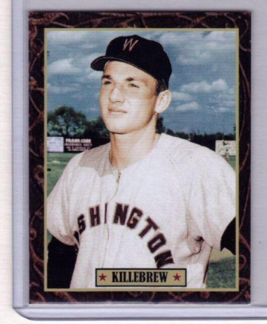 Harmon Killebrew '55 Washington Senators, Ultimate Baseball Card Collection #14