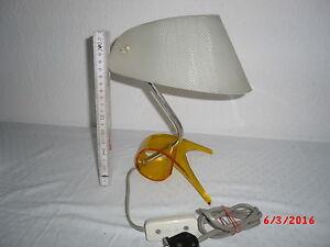 Alte Ddr Lampe 60 70er Jahre Seltenes Design Plaste Tischlampe