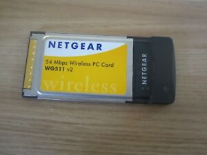 NETGEAR 54MBPS WIRELESS PC CARD WG511V2 DRIVER FREE