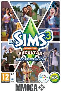 Los-Sims-3-Movida-en-la-facultad-Expansion-University-Life-PC-EA-Origin-ES