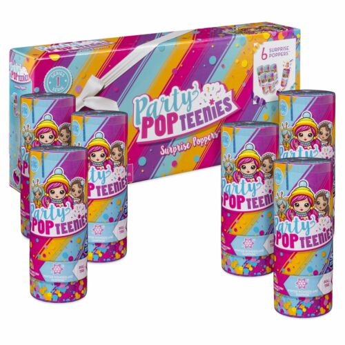 6 Surprise Popper Bundle with Confetti Collec... Party Pack Party Popteenies
