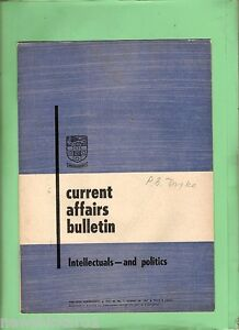 D83-TWO-1967-CURRENT-AFFAIRS-BULLETINS-UNIVERSITY-OF-SYDNEY