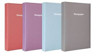Large-Pastel-Peach-Memo-Slip-In-Photo-Album-300-6-x-4-Photos