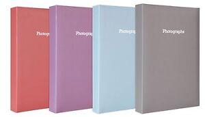 Large-Pastel-Violet-Memo-Slip-In-Photo-Album-300-6-x-4-Photos
