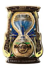 Hard Rock Cafe Yankee Stadium, NY Sand Clock Series Pin 2017