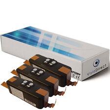 Lot de 3 batteries 14.4V 4400mAh pour iRobot Roomba 560 - Société Française -