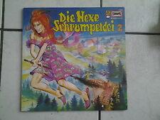 Die Hexe Schrumpeldei--Hörspiel LP  Europa - - Nr.2