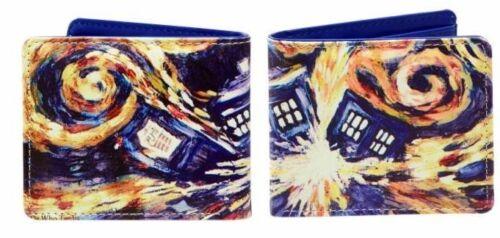 Doctor Who Bi-Fold Van Gogh Exploding Tardis Portefeuille Underground 012002