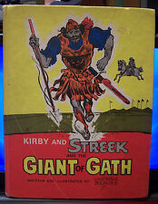 Kirby and Streek and the Giant of Gath by George Benes, HC, 1970(David&Goliath)