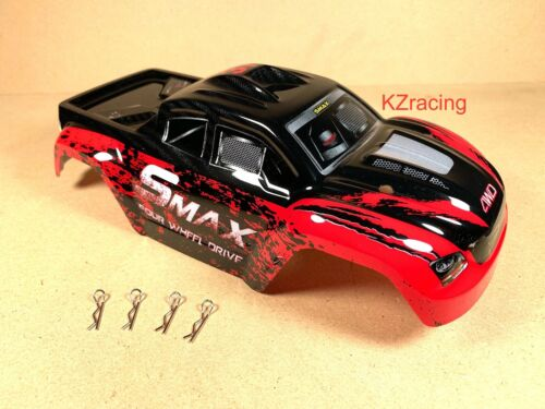 US Seller Remo Hobby 1631 SMAX New Version Body Shell with Body Clips RC 1//16