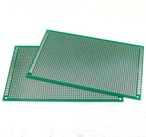 2//5//10PC Double Side 6X8 CM PCB Strip board Printed Circuit Prototype Track LW