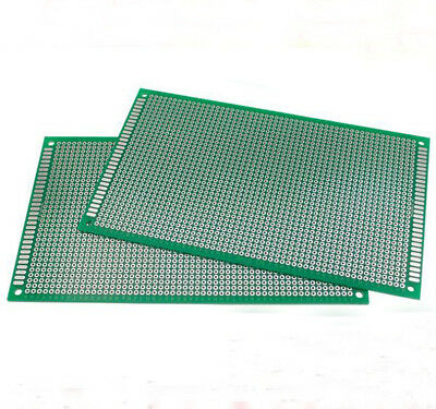 2//5//10PC Double Side 3X7 CM PCB Strip board Printed Circuit Prototype Track LW