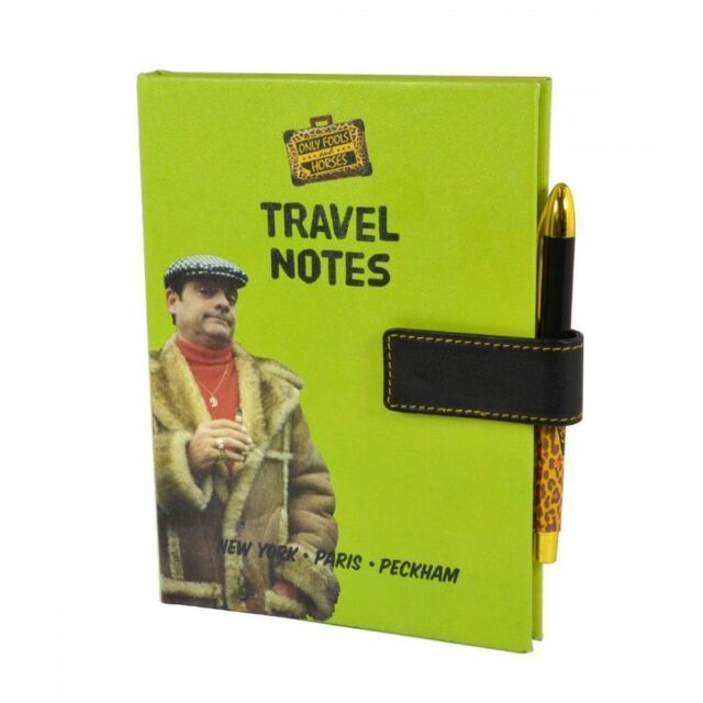 Only Fools and Horses Travel Notebook and Pen Set DISCOUNTED