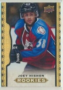 2014-15-Upper-Deck-Masterpieces-Black-Framed-Leather-ROOKIE-177-Joey-Hishon-50