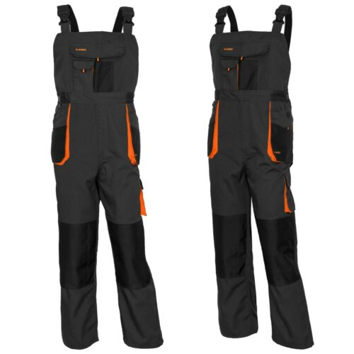 Classic Bib and Brace Overalls Knee Pad-VARIOUS COLORS Multipockets Strong