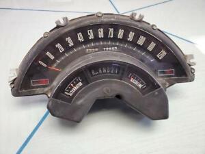 1965-1966-Chrysler-300-New-Yorker-Newport-Instrument-gauge-panel-12005-miles-OEM