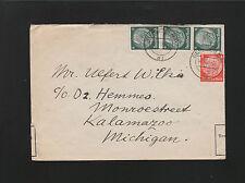 Germany Berlin Censor Office SCARCE Usage Custom Label September 1939 Cover 6z