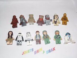 LEGO-Minifig-figurine-Star-Wars-RARE-ewok-village-set-10236-choose-model-KG-87