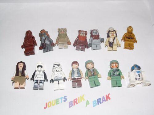 KG 87 LEGO Minifig figurine Star Wars RARE ewok village set 10236 choose model