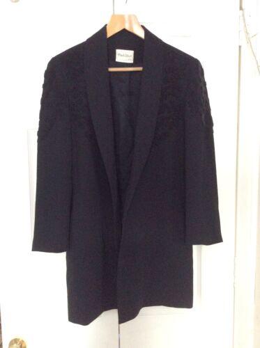 Beaded Black Long Ladies Beaded Beaded Black Long Jacket Ladies Jacket Long q4wgUC