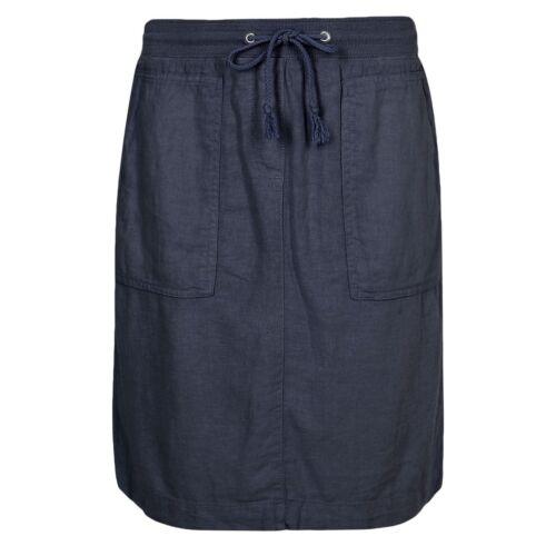 Fa M ou S HAUT St femme m s Lin Riche taille élastique Mini Jupe RRP £ 17.50