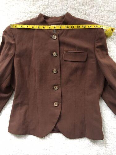 90/'s Liz Claiborne Liz Wear Petite Size 6 NEW OS w tags White Blazer