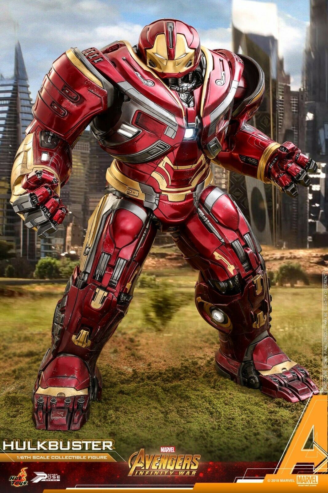 HOT TOYS PPS005 Avengers 3  Iron Man Power Pose Hulkbuster 1 6 Figure