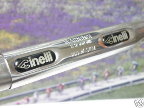 Cinelli TOUCH Eco helebar with doppio grooves 26mm