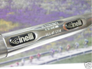 Cinelli TOUCH Eco handlebar with double grooves 26mm