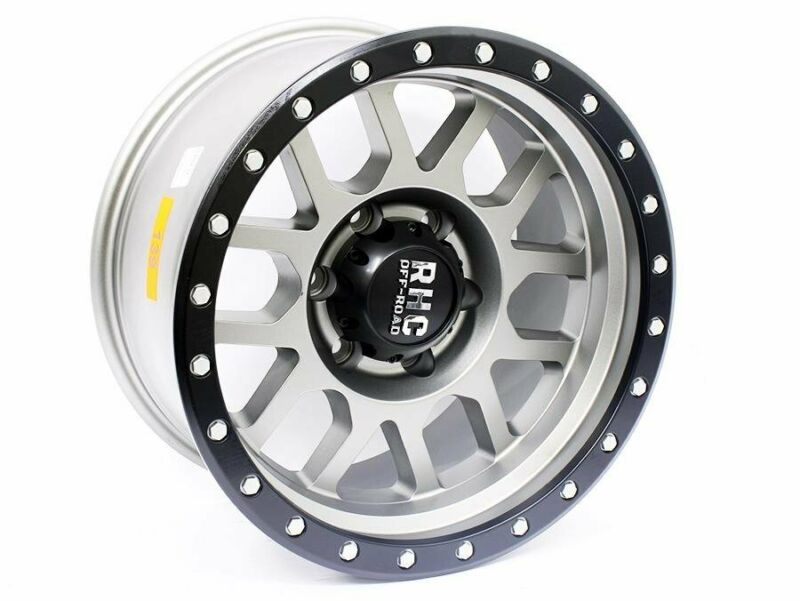 17 Racing Hart Omega 6-139 Satin Grey Alloy wheels – 6-139 pcd – -12 offset – CB106 – 9j width – sol