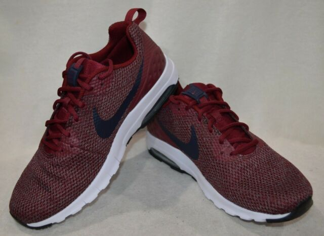 the latest e9252 76a73 Nike Air Max Motion LW SE Red Obsidian Navy B Men s Running Shoes