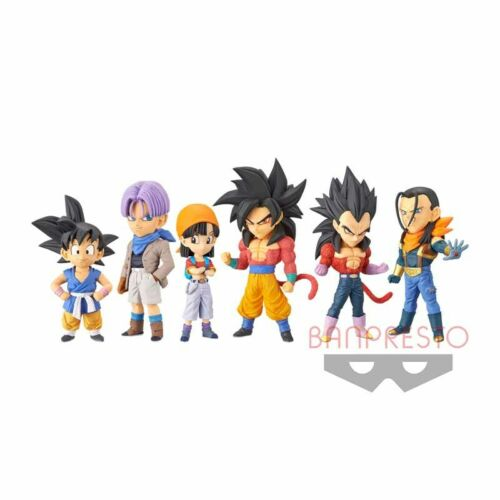 Dragon Ball GT World Collectable Figure WCF vol.1 All 6 type set Japan F//S NEW
