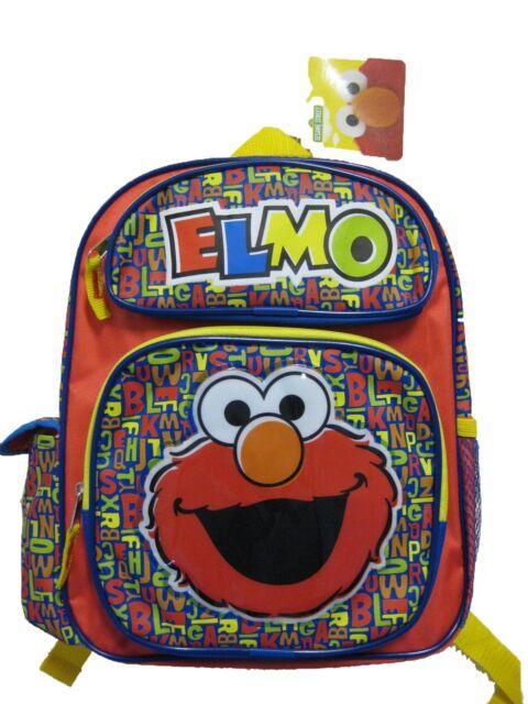"B14SS20919 Elmo Small Backpack 12""x 10"""