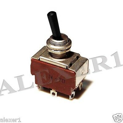 2x Military Russian Toggle Switch DPDT On-Off-On  P2-1