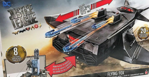 DC Justice League Flying Fox Mobile Command Center Vehicle Playset NEW IN BOX