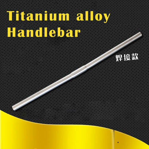 25.4mm Titanium Folding Bike Flat  Bar Flat Handle bar 530-680mm For Brompton  free shipping worldwide