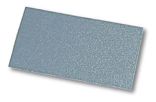 100 St MIRKA Streifen Q.Silver 70 x 125 mm Klett P120 ungelocht