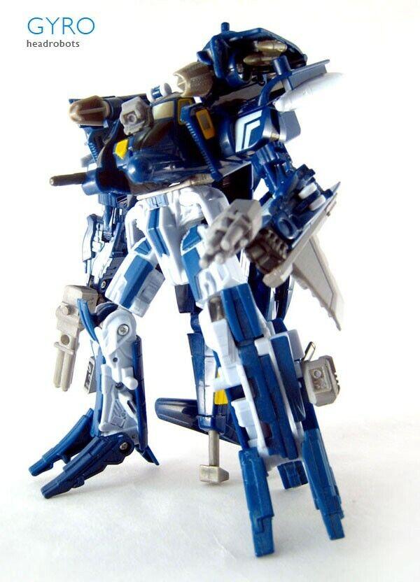 Gyro Whirl Transformers Headmaster Upgrade Kit headrobots blackout megatoyfan