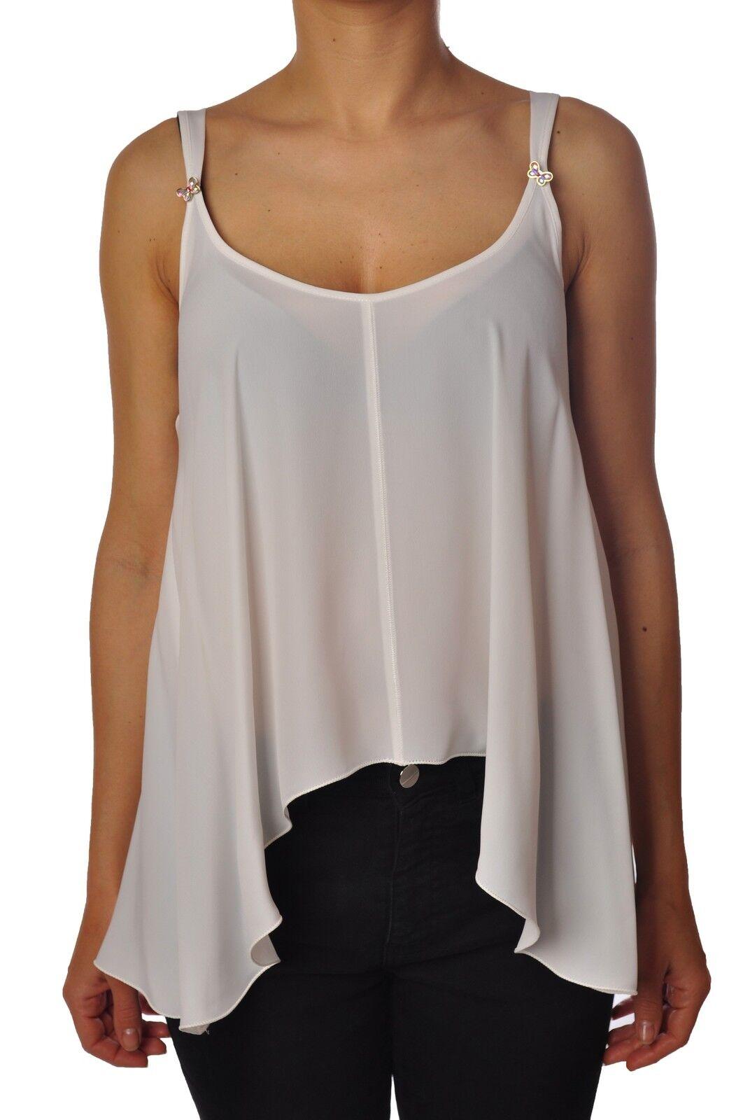 Patrizia Pepe-topwear-Top  sin mangas-Mujer-blancoo - 3631601H181305  artículos novedosos