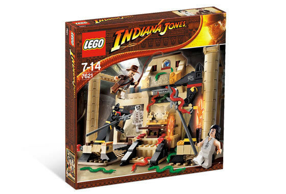 BRAND NEW LEGO Indiana Jones and the Lost Tomb 7621