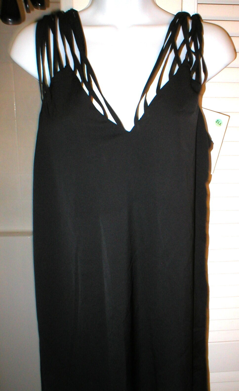New Womens 10 NWT Dress 46 Designer  MM6 Maison Martin Margiela Multi Strap