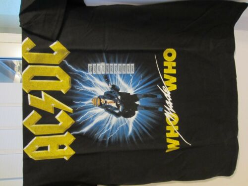 Who Made Who Tee X-Large XL NWT Men/'s AC//DC Men/'s Graphic T-Shirt