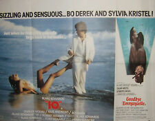 Bo Derek  10 /Sylvia Kristel GOODBYE EMMANUELLE (1977/79) Original movie poster
